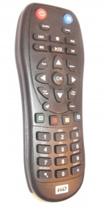 Western Digital WDTV Live remote control - 2011 model
