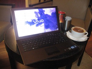 Sony VAIO Z Series ultraportable
