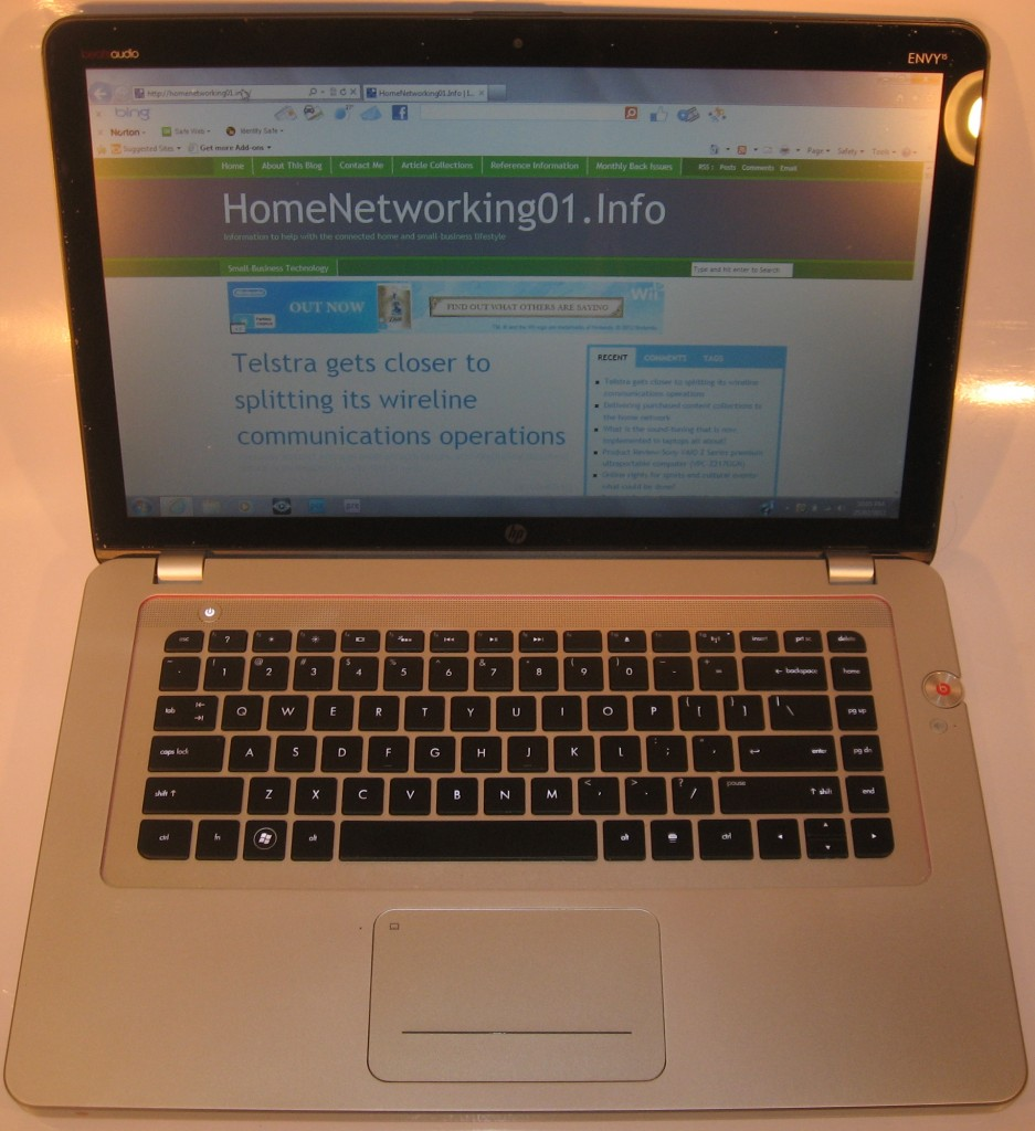 HP Envy 15-3000 Series laptop