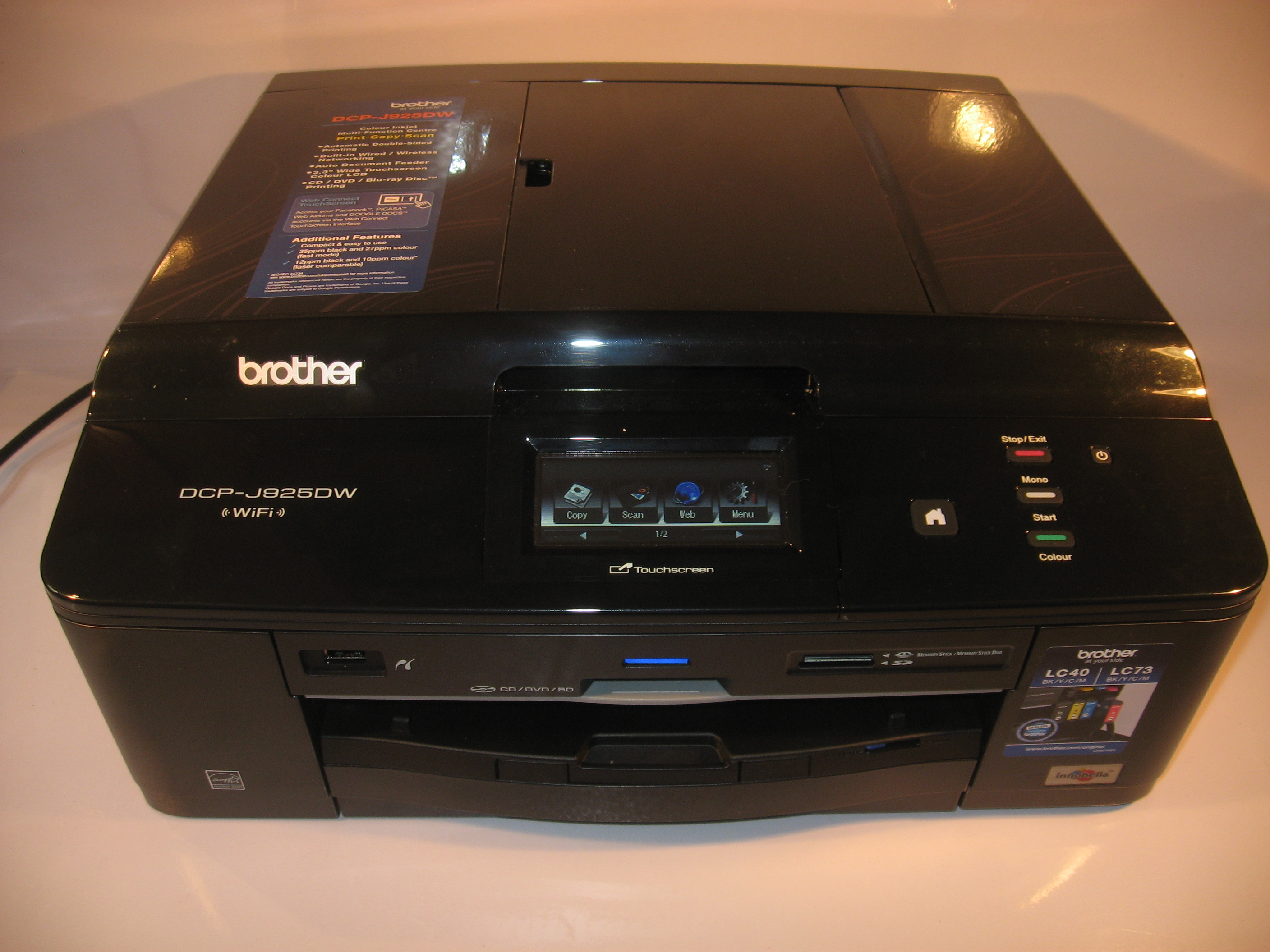 Product Review–Brother DCP-J925DW multifunction printer
