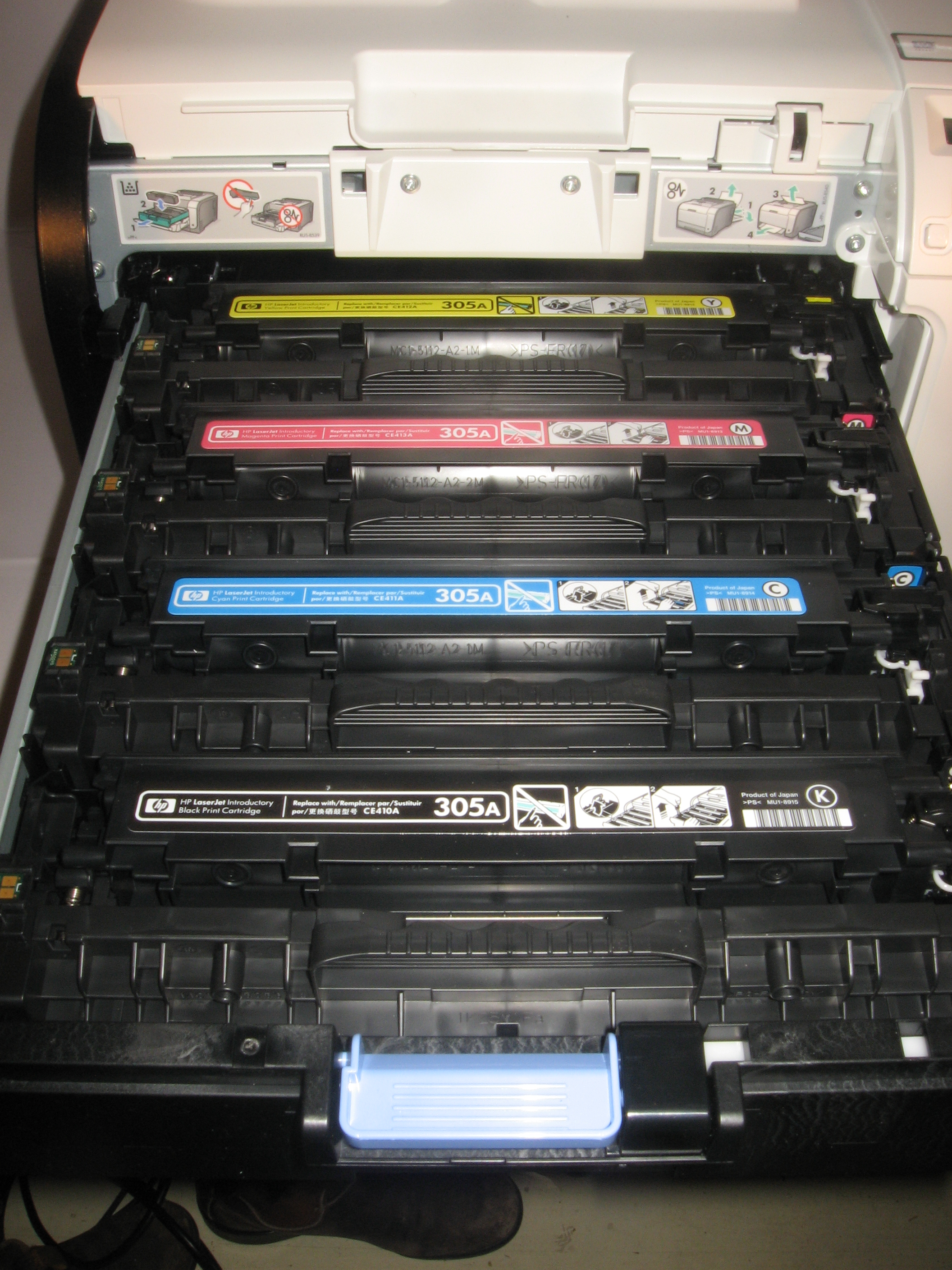HP LaserJet Pro 400 Series toner cartridges