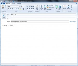 Compose Email or New Email form
