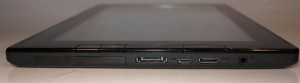 Lenovo ThinkPad Tablet bottom edge connections
