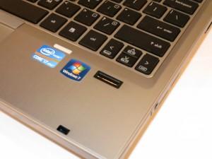HP Elitebook 2560p business notebook fingerprint reader