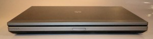 HP Elitebook 2560p business notebook closed front view