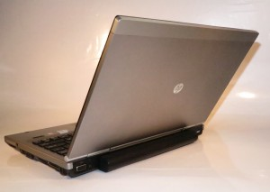 HP Elitebook 2560p business notebook lid view