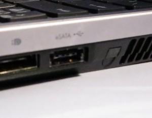 eSATA port on some laptops