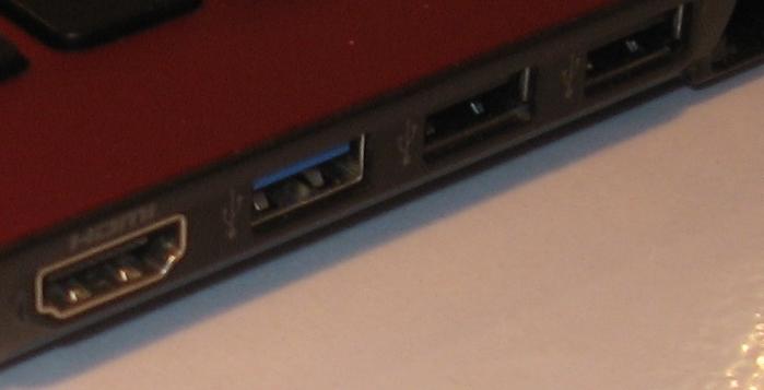 U3.0 socket on laptop