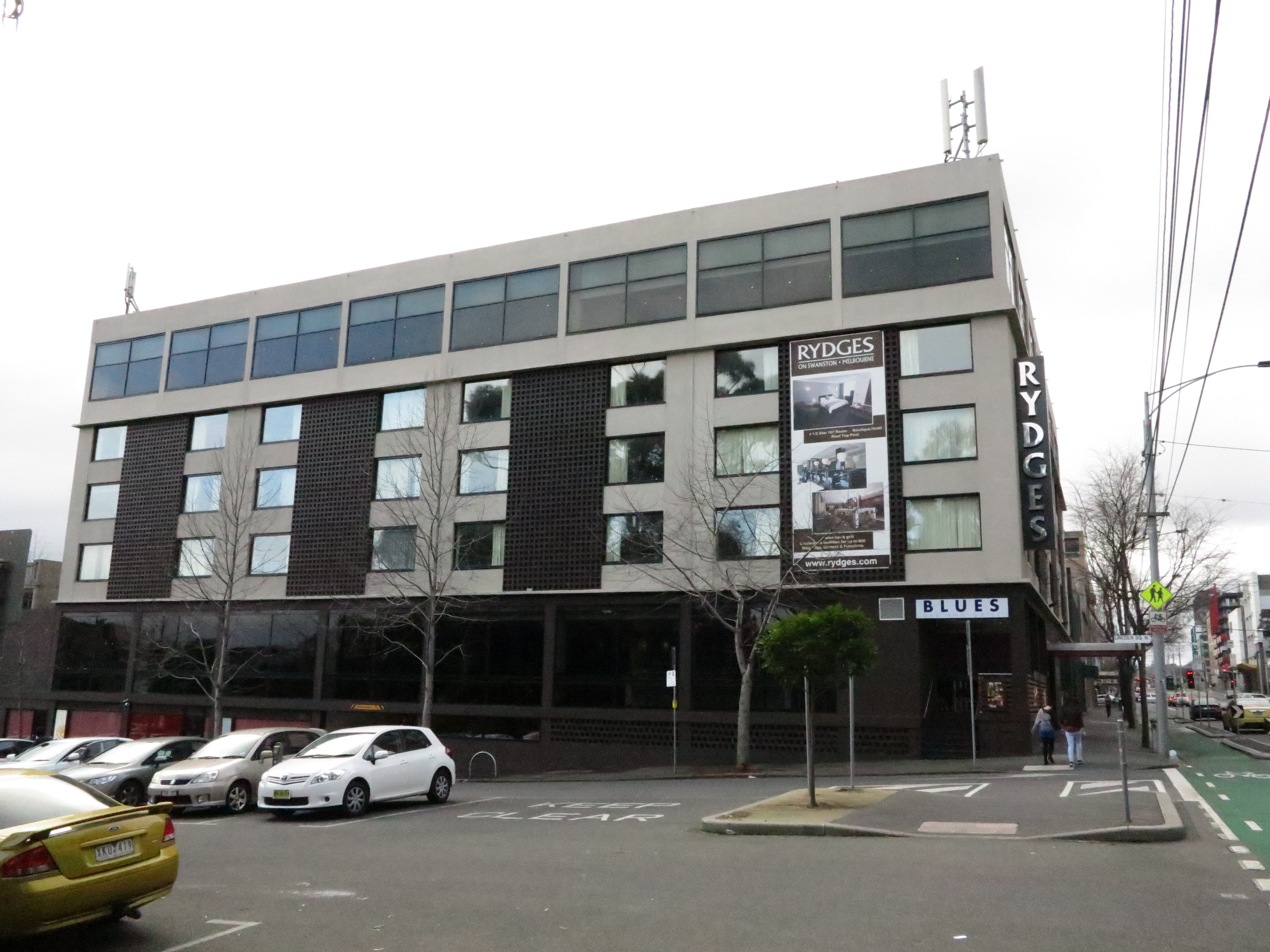 Rydges On Swanston hotel - an example of a hotel where DLNA technology can be relevant