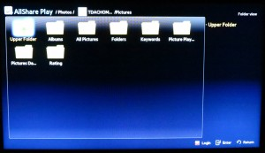 DLNA media directory provided by server PC
