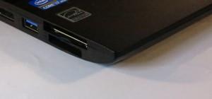 Toshiba Tecra R950 - ExpressCard or USB sound-module connection options