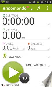 Endomondo Pro Android