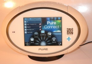 Pure Sensia 200D Connect Internet radio function selection