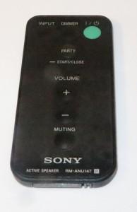 Sony wireless speakers remote control