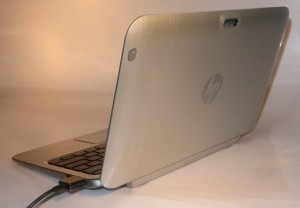HP Envy x2 Hybrid Tablet rear view