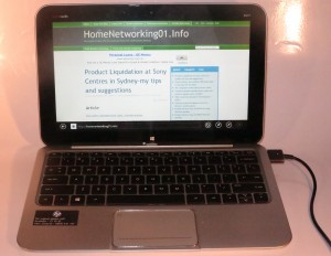 HP Envy X2 Detachable-Keyboard Hybrid Tablet