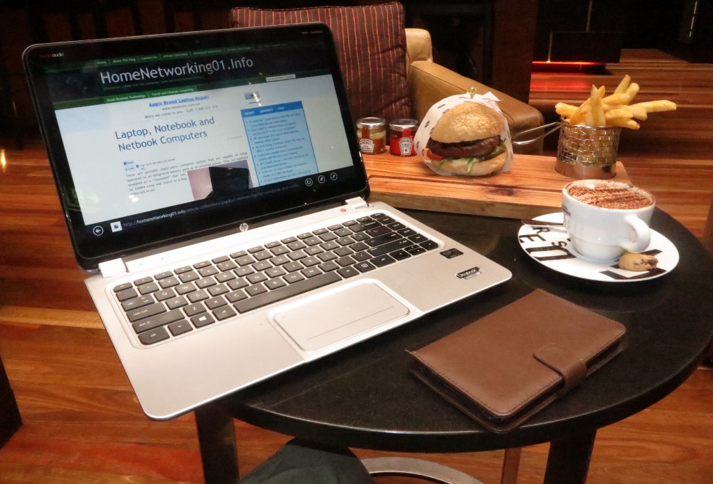 HP Envy 4 Touchsmart Ultrabook at Intercontinental Melbourne On Rialto