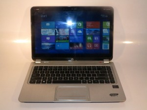 HP Envy 4 Touchsmart Ultrabook with Windows 8 Modern UI