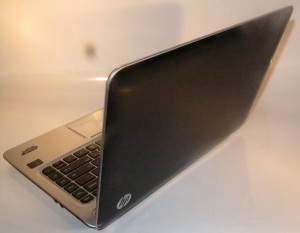 HP Envy 4 Touchsmart Ultrabook rear view