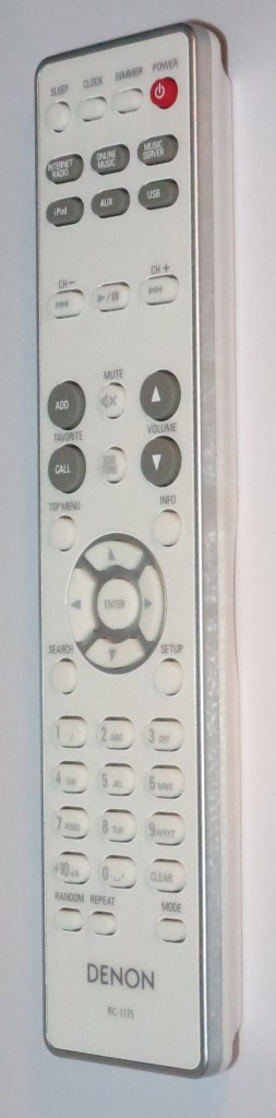 Denon CEOL Piccolo remote control