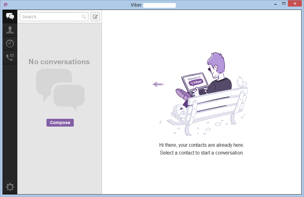 Viber 3.0 Desktop Client for Windows