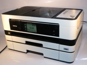 Brother MFC-J4710DW sideways-print multifunction inkjet printer
