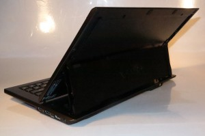 Sony VAIO Duo 11 slider-convertible tablet - rear view