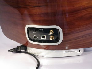 Marantz Audio Consolette speaker dock external equipment connections