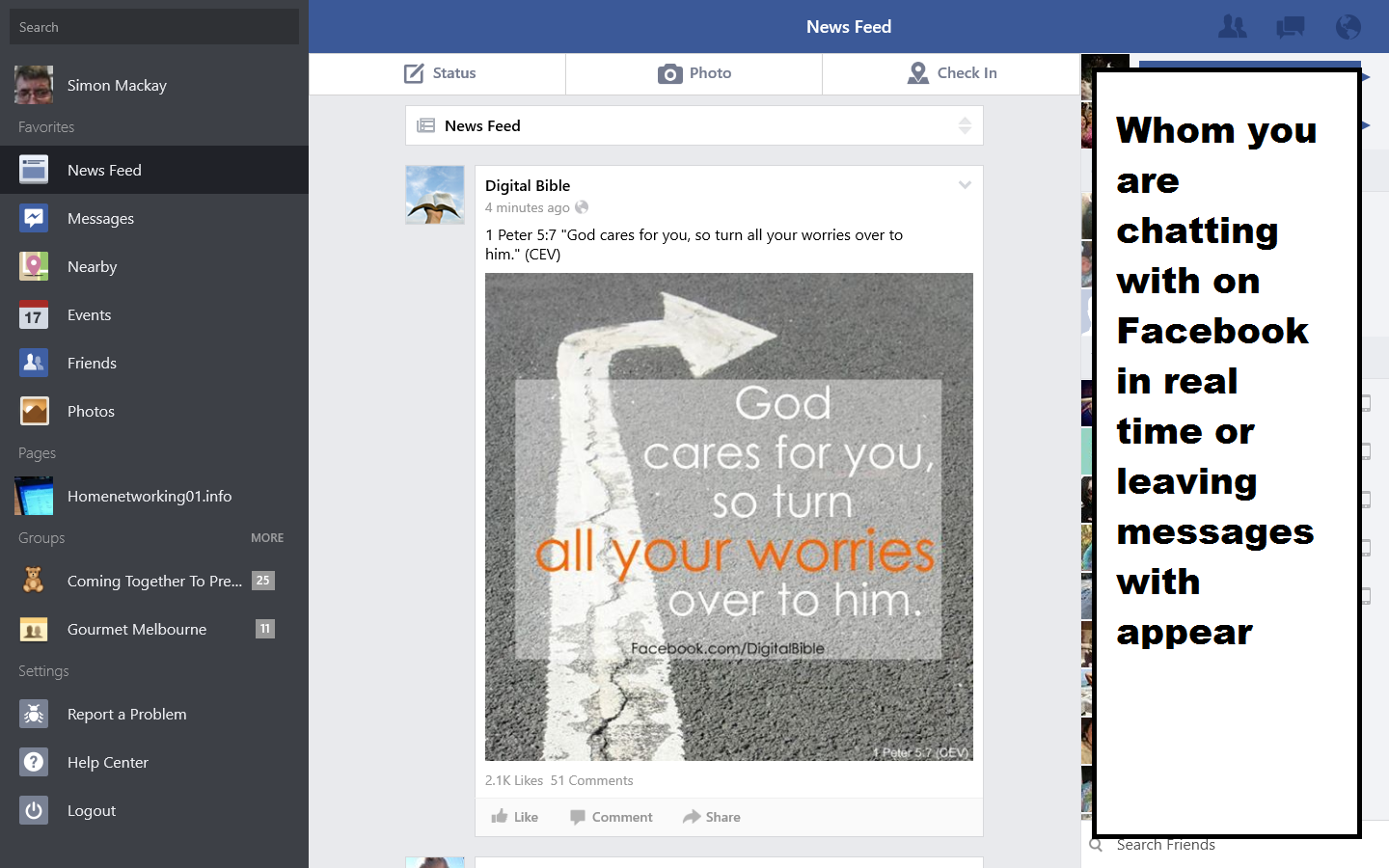 Official app for Facebook now on Windows 8.1