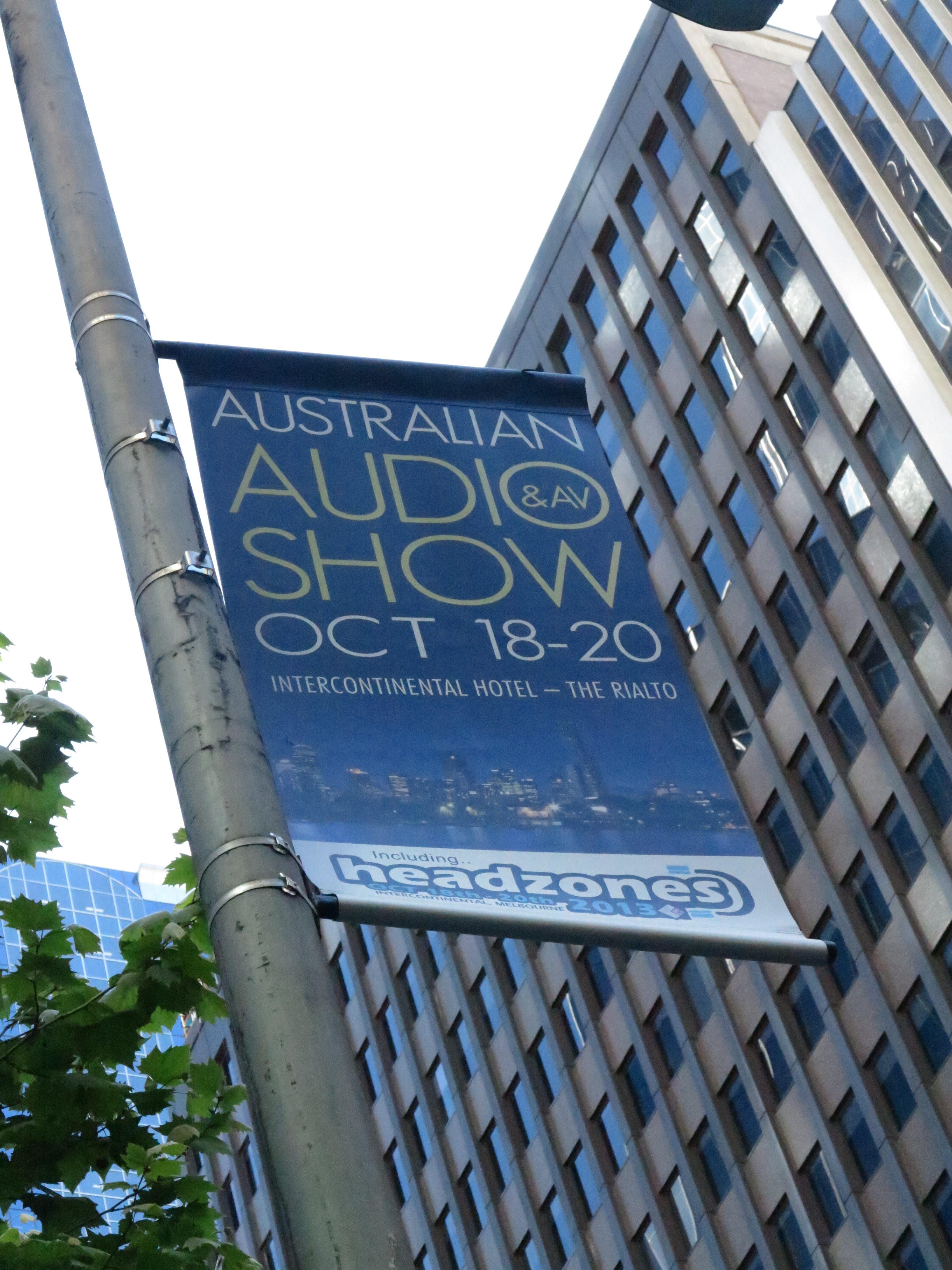 Australian Audio & AV Show 2013