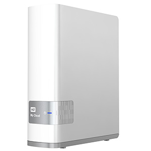 WD MyCloud consumer network-attached storage - press image courtesy of Western Digital