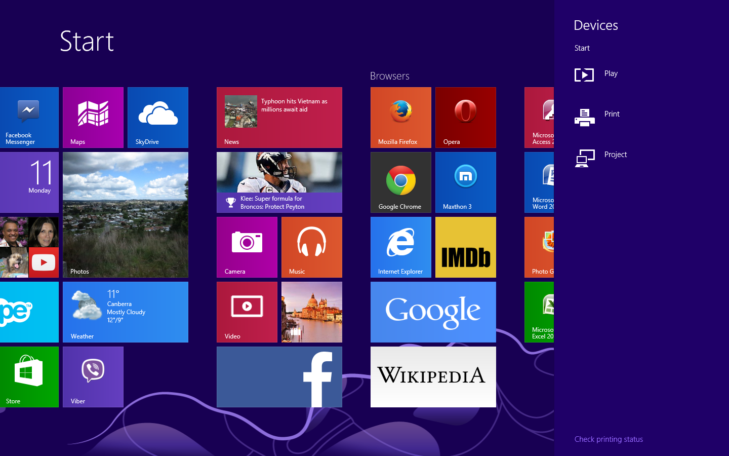 Windows 8–How about apps that exploit both the Desktop and Modern UI?