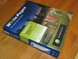 White Pages phone book