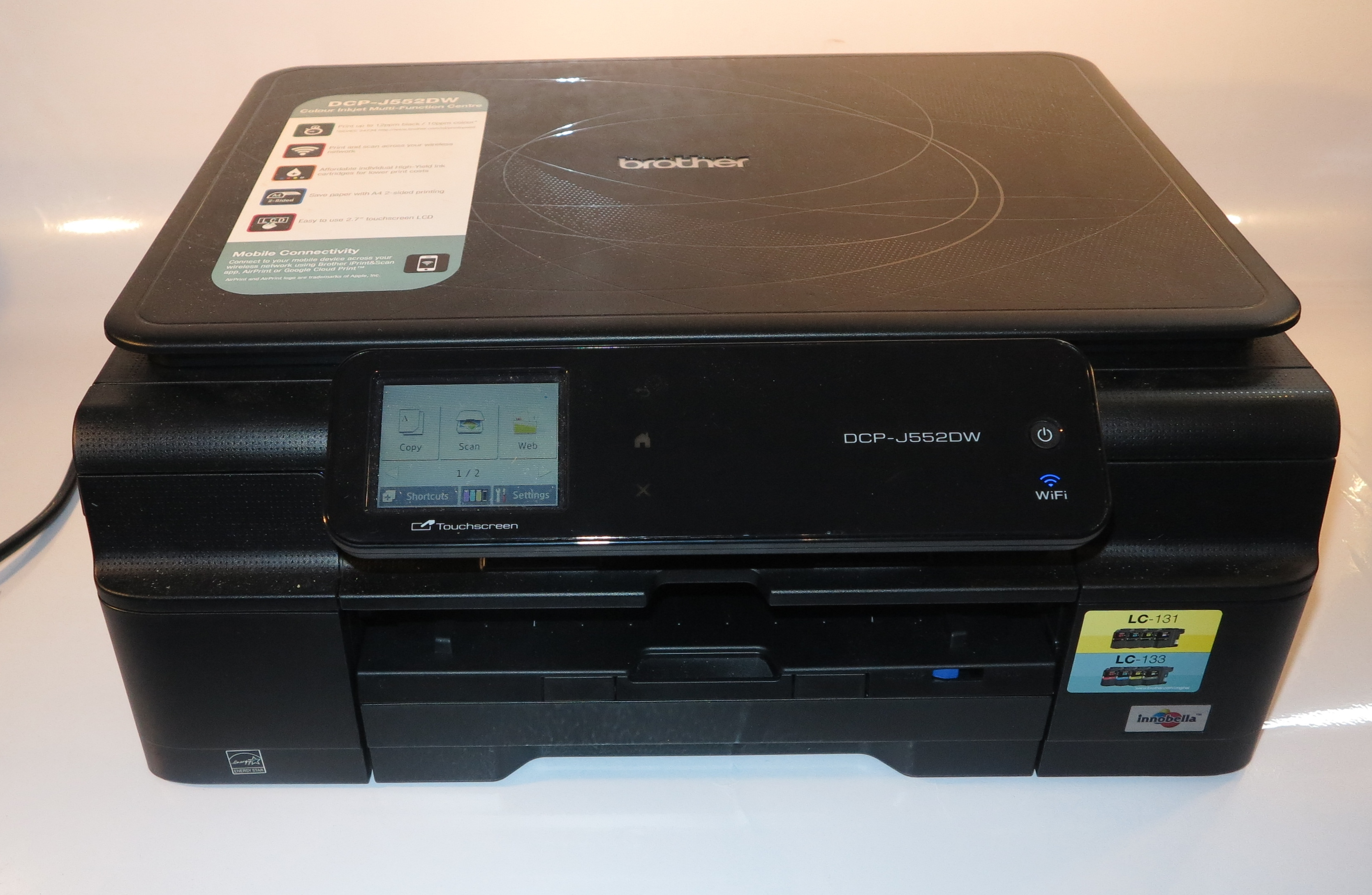 Brother DCP-J552DW multifunction printer