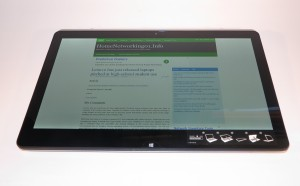 Sony VAIO 13a convertible Ultrabook as a tablet