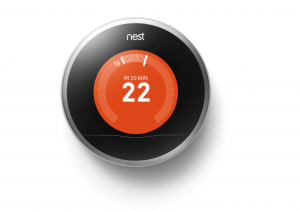 Nest Learning Thermostat courtesy of Nest Labs