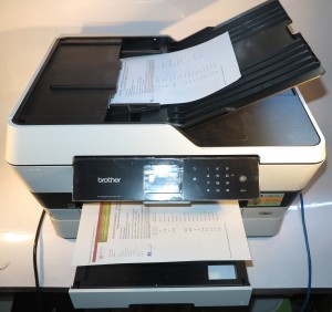 Brother MFC-J6720DW A3 multifunction inkjet printer
