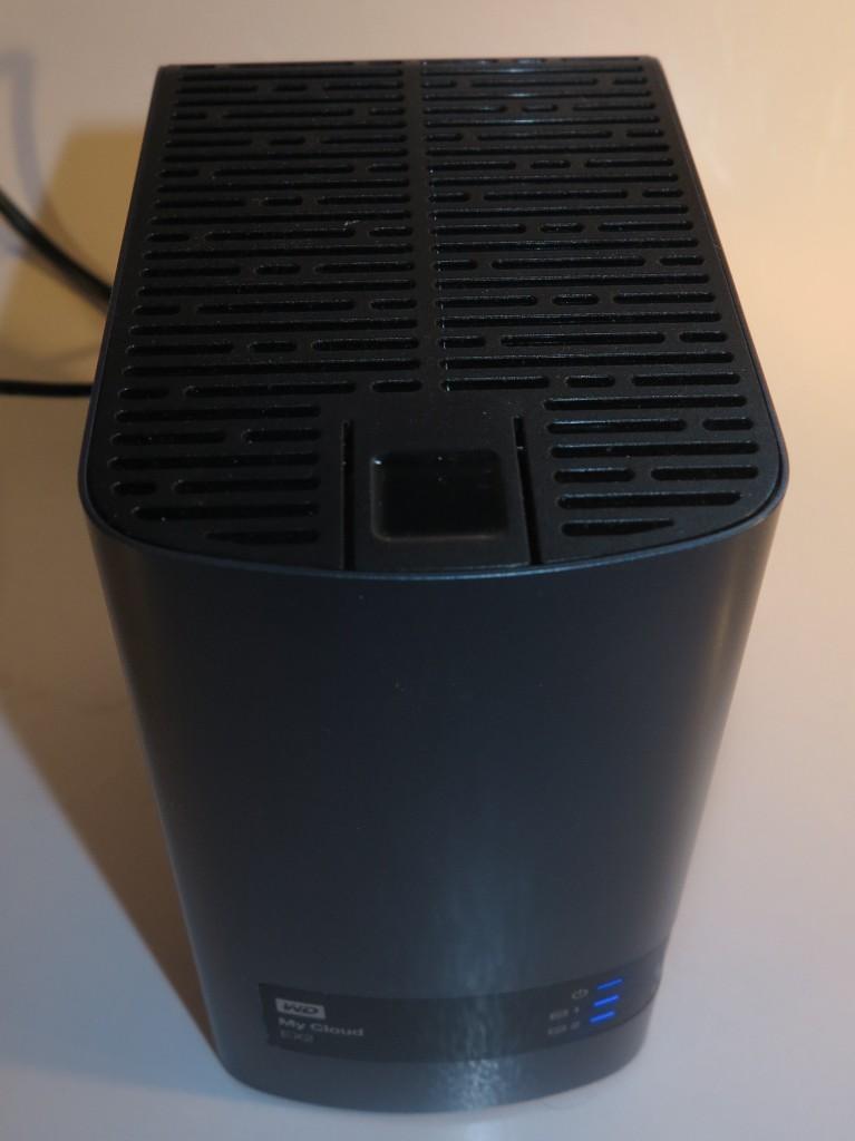 WD MyCloud EX2 dual-disk NAS