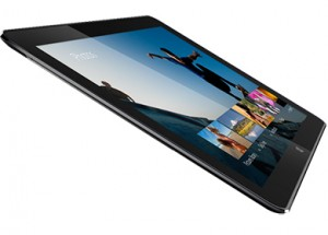 9mm fanless tablet concept with regular computing power - Press image courtesy of Intel