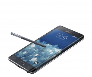 Samsung Galaxy Note Edge press image courtesy of Samsung