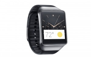 Samsung Gear Live Black Android Wear smartwatch press image courtesy of Samsung