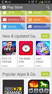 Google Play Android app store