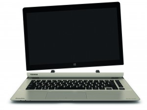 Toshiba Satellite Click 2 Pro detachable notebook press image courtesy of Toshiba