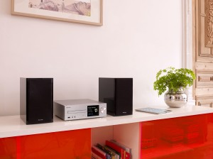 Pioneer X-HM82 3-piece network-capable music system press picture courtesy of Pioneer
