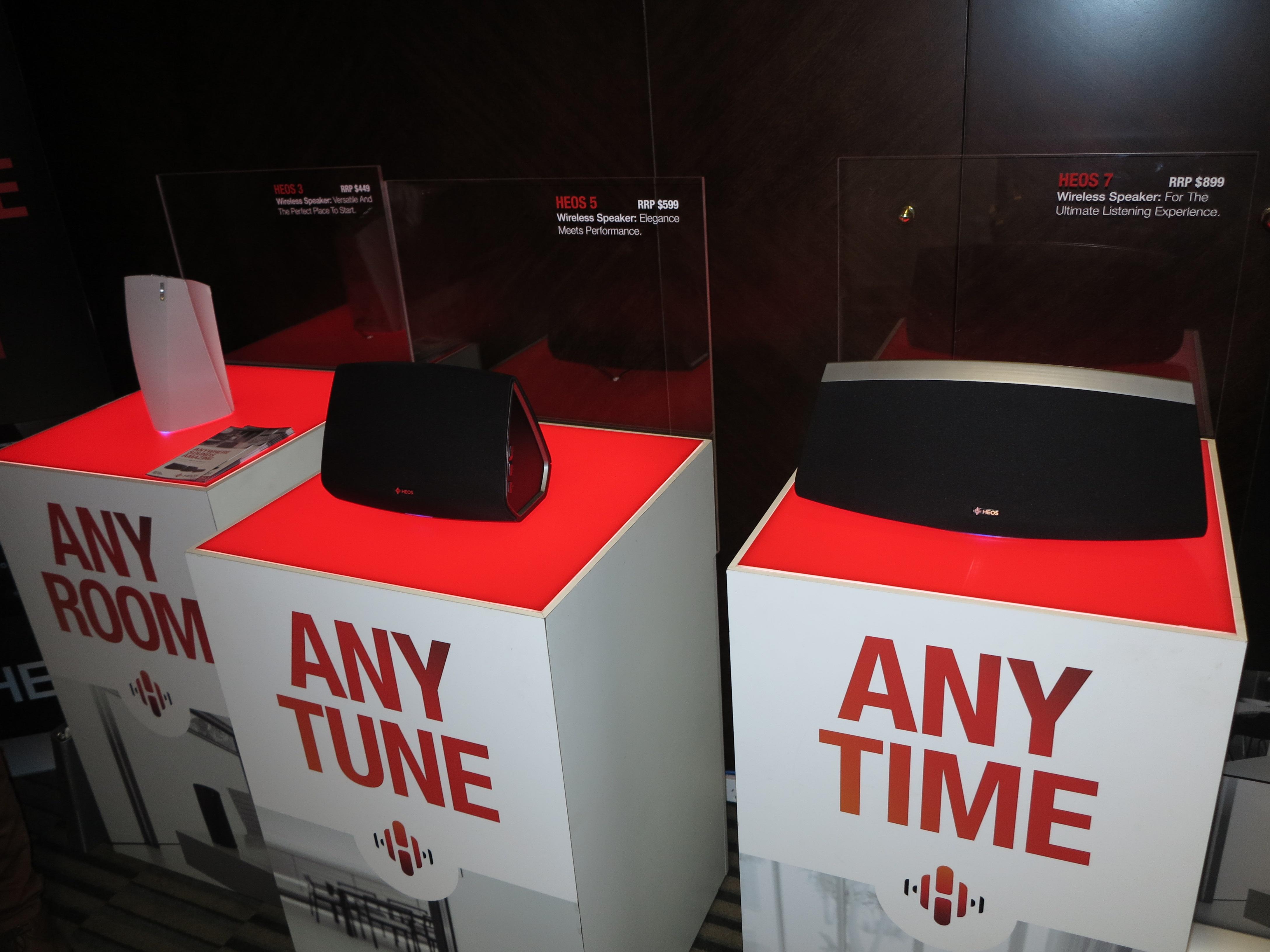 Denon HEOS wireless speakers