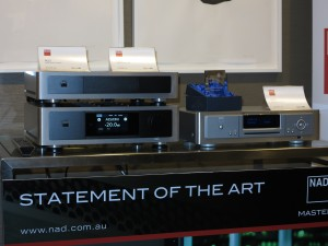 Latest iteration of the NAD Masters digital-driven hi-fi system