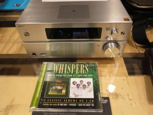 Sony MAP-S1 network-capable CD receiver - an example of good CD-playing hi-fi equipment