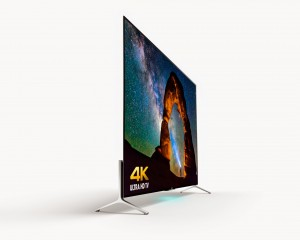 Sony slim 4K UHDTV press image courtesy of Sony America