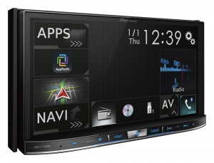 Pioneer AVIC-F77DAB car stereo press image courtesy of Pioneer