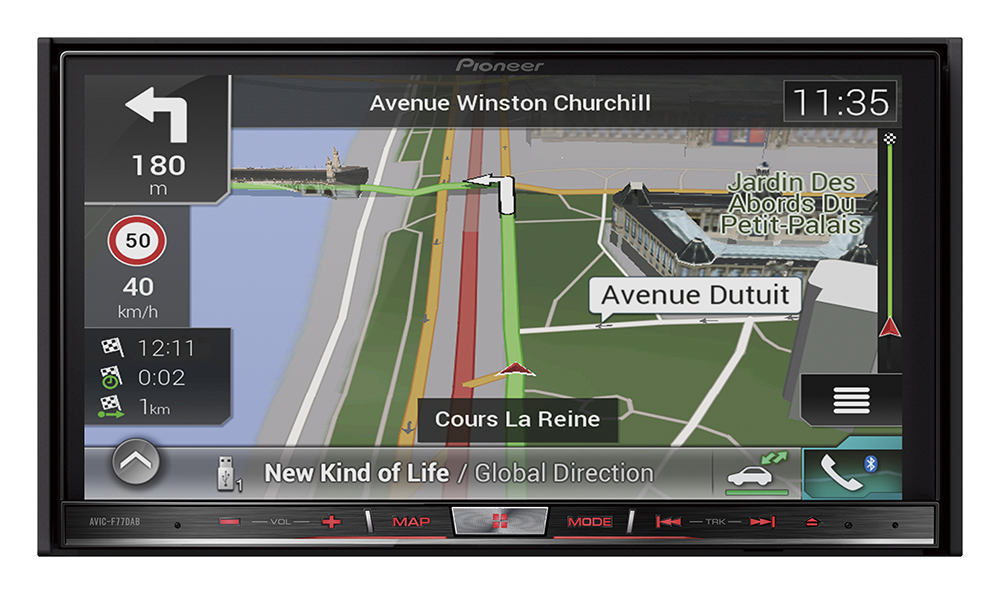 Pioneer aftermarket car audio to have Apple CarPlay and Android Auto